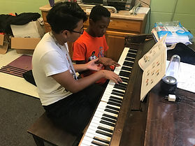 piano lessons at camp warrior king