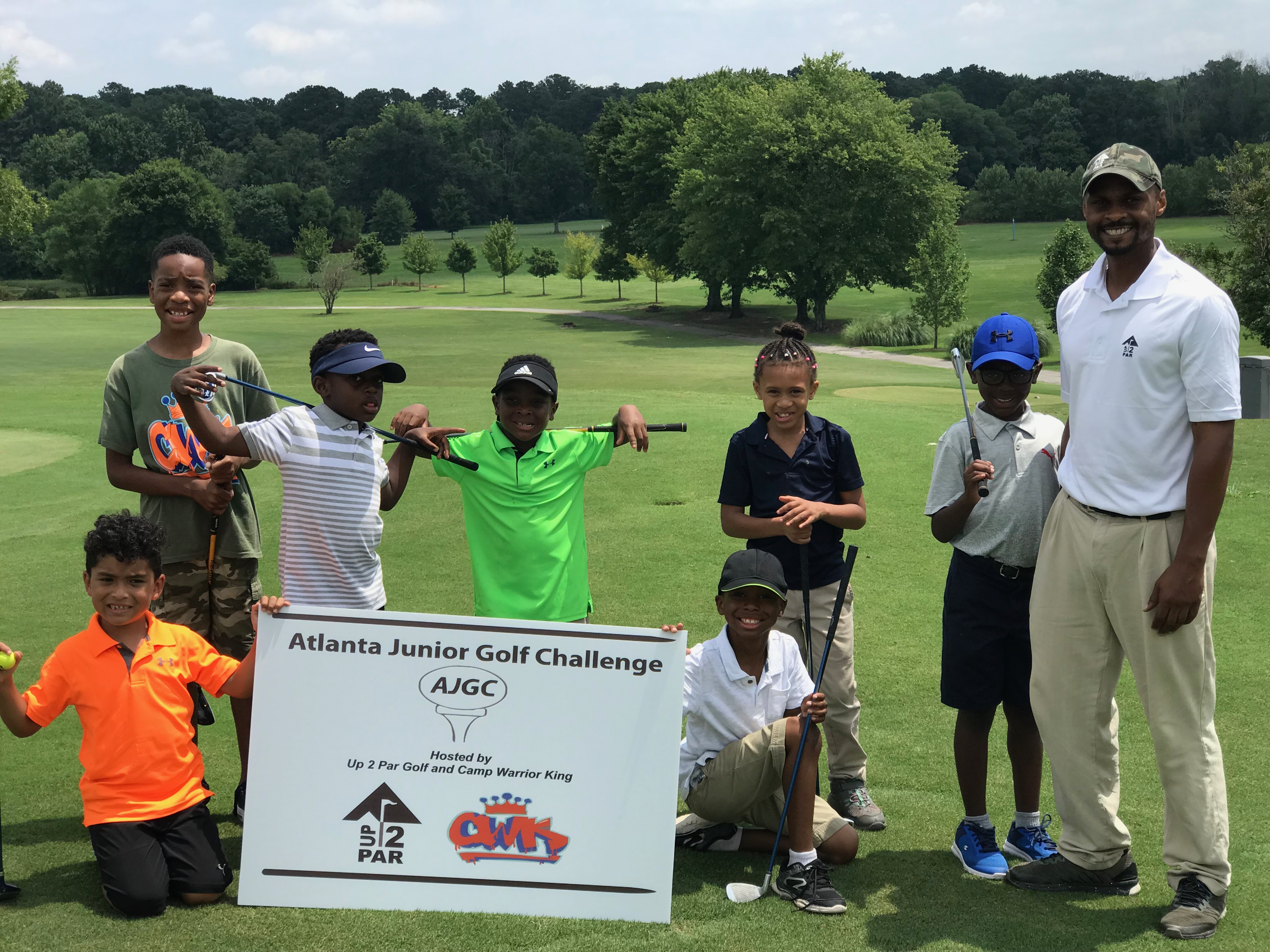 kids summer camp golf tournament