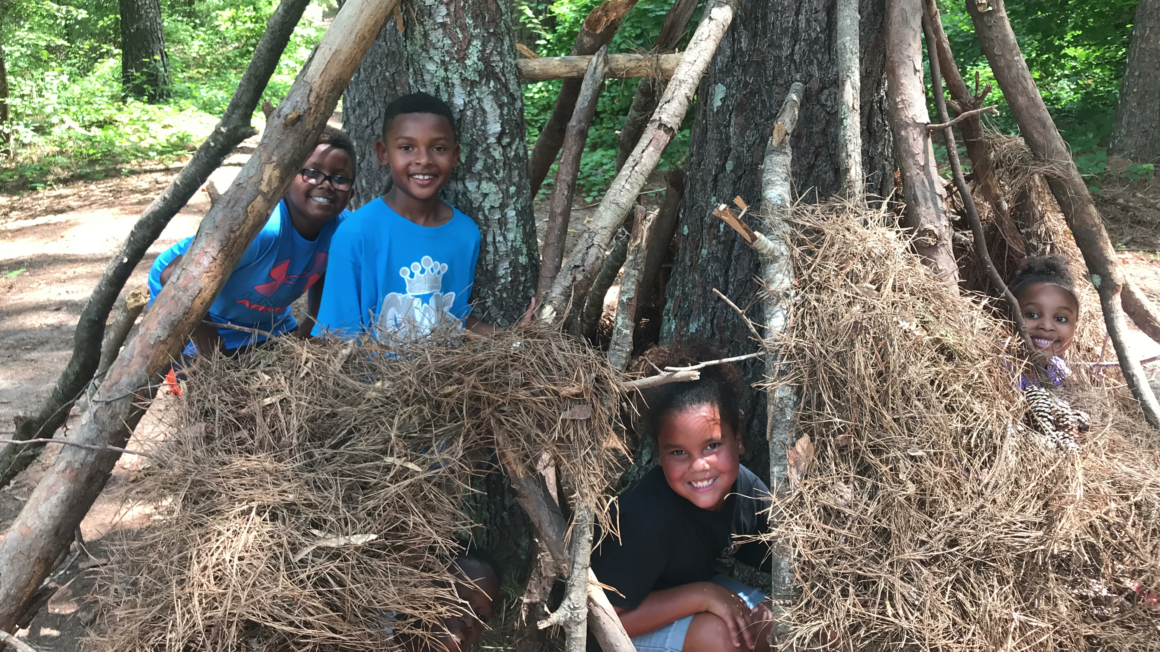 CWK Kids in wilderness class