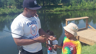 cwk father ad daughter fishing rip at cwk