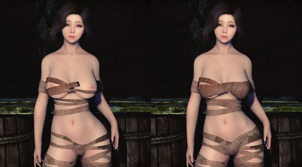 Bikini Armor Replacers - CBBE Bodyslides - TAWOBA And BA