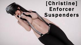 [Christine] Enforcer Suspenders