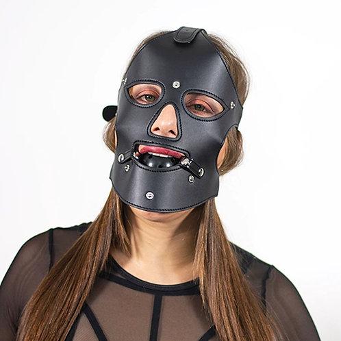Mascara con mordaza