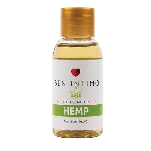 Aceite masajes cannabis SEN 30ml