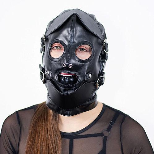 Mascara con mordaza Gimp