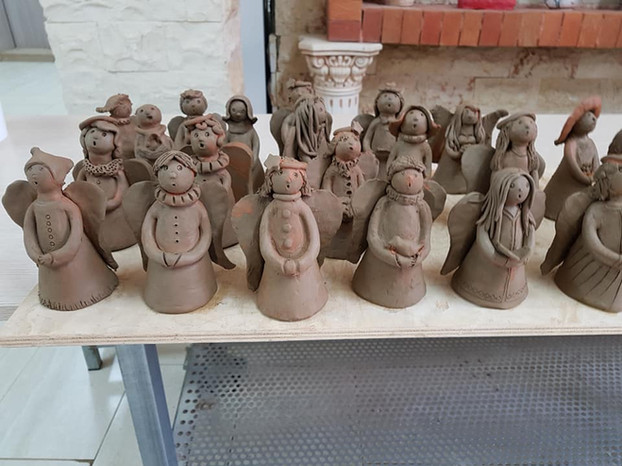 Clay Angels for Charity
