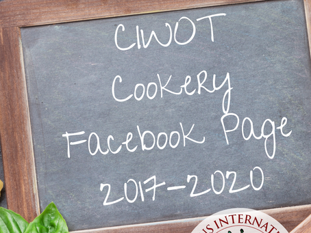 All Recipes from CIWOT cookery Facebook page 2017 - 2020