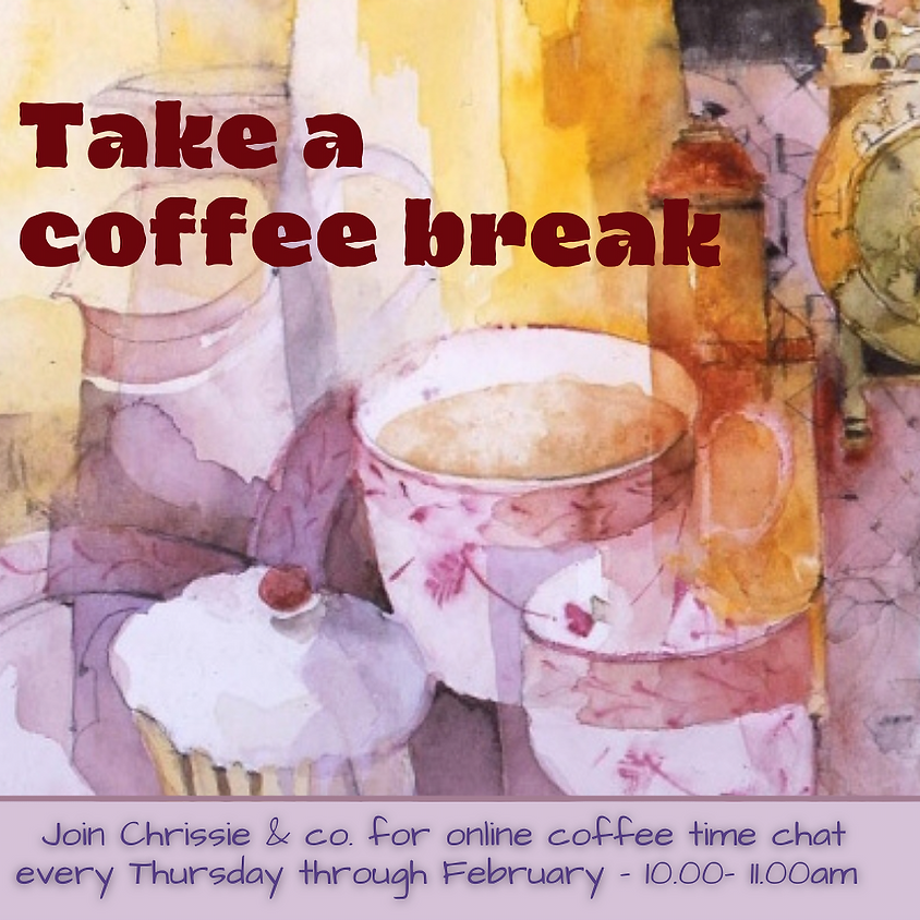 Coffee catch up with Chrissie 4th February