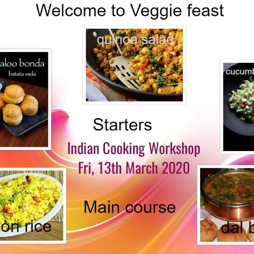 Indian Cooking Workshop with Brinda Srinivas