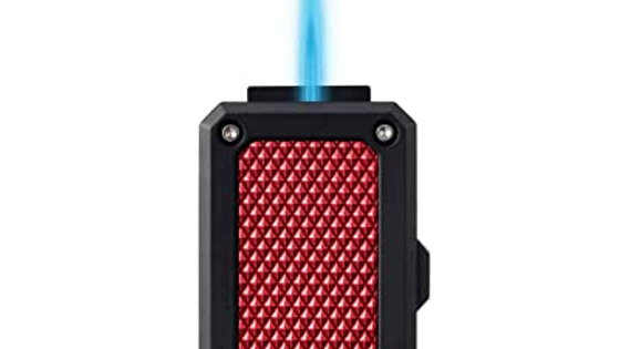 COLIBRI RALLY JET LIGHTER BLACK/RED