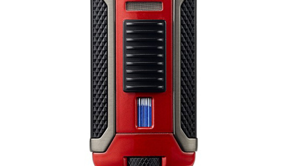 COLIBRI APEX SINGLE-JET LIGHTER RED