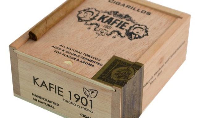 KAFIE 1901 CIGARS CIGARILLOS NATURAL VITOLA  4X22