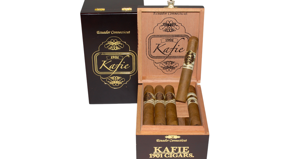 KAFIE 1901 CIGARS CONNECTICUT ROBUSTO 5X50