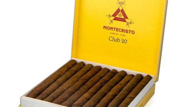 MONTECRISTO CLUB 20's