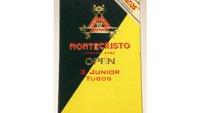 Montecristo Open Junior - Tubos