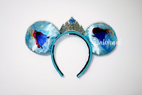 Kids Elsa Inspired Mouse Ears / Ice Princess