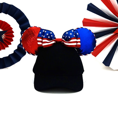 4th of July Patriotic Flag Mouse Ear Hat
