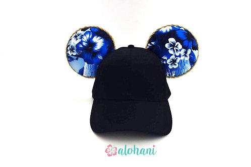 Hawaiian Blue Mouse Ear Hat