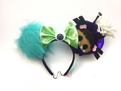 Sully and Boo in Costume Ears