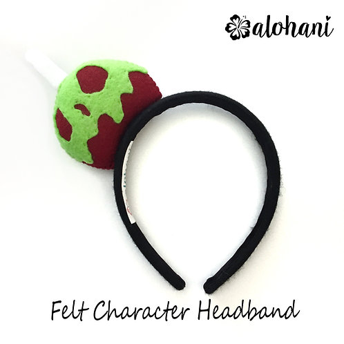 Poison Apple Felt Character Headband