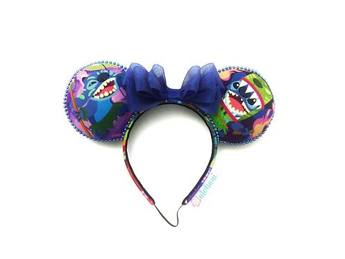 Tiki Stitch Mouse Ears / Polynesian Tiki