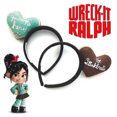 Cookie Medal Felt Character Headband - Semi Custom