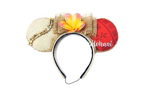 Moana Inspired Mouse Ears / Polynesian Princess