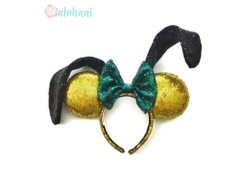 Custom Sequin Pluto Mouse Ears