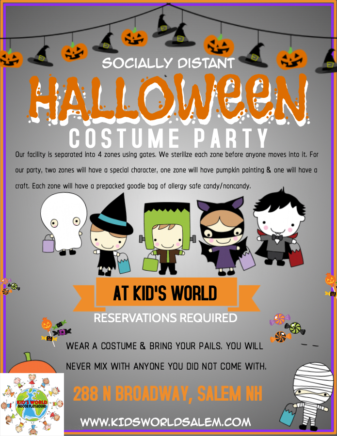 Copy of Halloween Costume Party for kids
