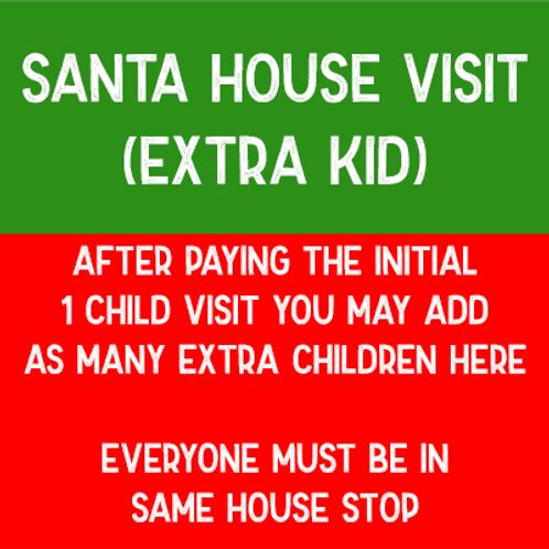 Santa Visit - Extra Kid (Any Day)
