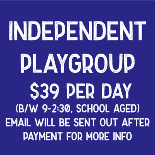 Playgroup - Independent