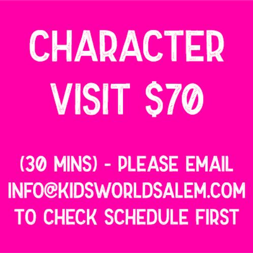 Character Visit