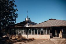 Exterior do Salão de Festas