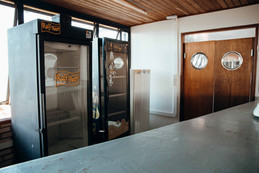 Refrigeradores do local