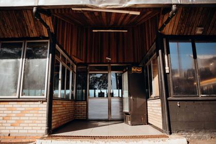 Entrada Principal do Salão de Festas