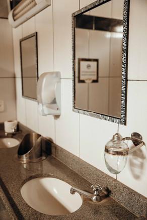Banheiro do local