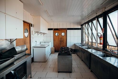 Cozinha do local