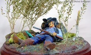 Cowboy dans la plaine, 80mm. (1981) Certificat débutant, Paris 1999