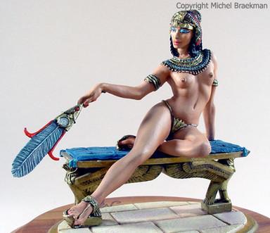 Princesse égyptienne, 80mm. (1999) Médaille d'Or Expert, Payerne 2004