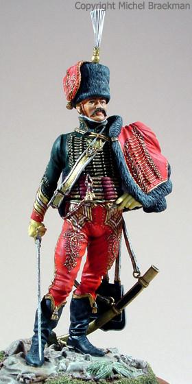Major, chef d'escadron de la garde napolitaine, 90mm. (1998) Médaille d'Or Expert, Payerne 2004