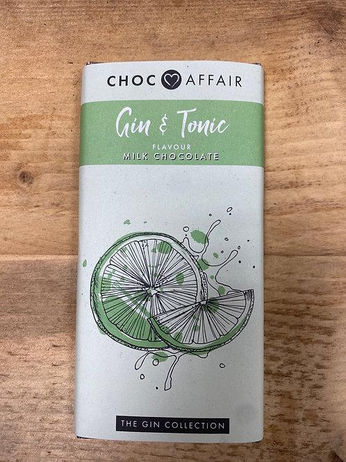 Gin & Tonic Milk Chocolate Bar