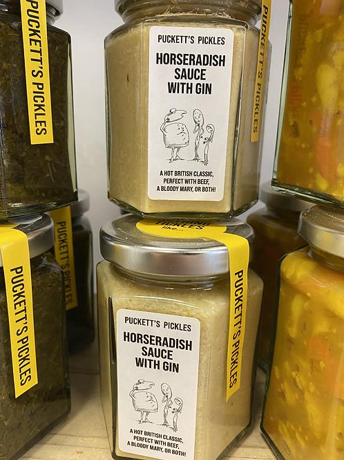 Horseradish Sauce with Gin