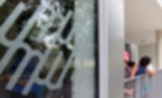 Centre social St Chamond (Loire 42) - Aj Architecture - Signalétique - Design d'espace Signalétique globale - Designer  Maud Moretton - Atelier design d'espace & design graphique