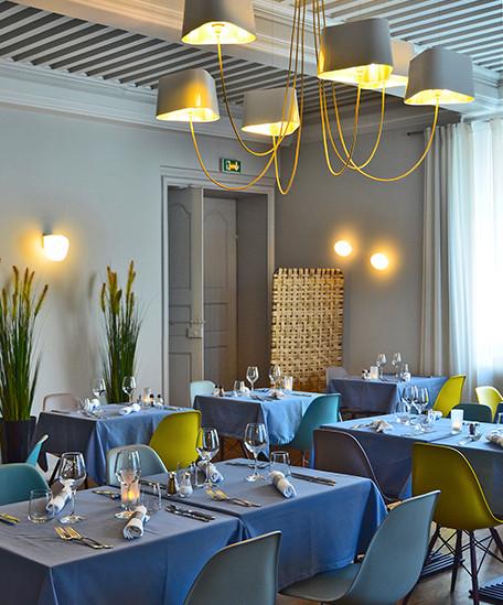 Château de Bobigneux - Design espace - Restaurant