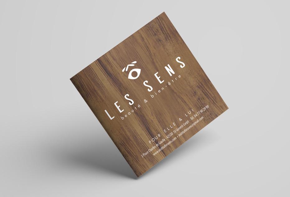 Les Sens - Institut - Brochure