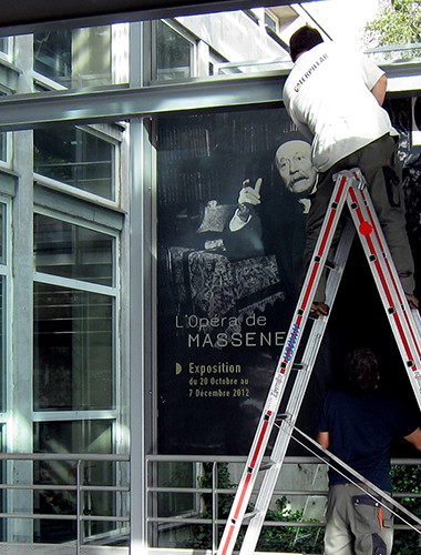 Scénographie Exposition L'opéra de Massenet