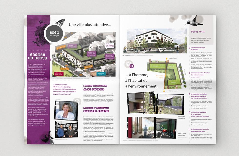 Expo - Parc Thermal - Design graphique - Magazine - Print