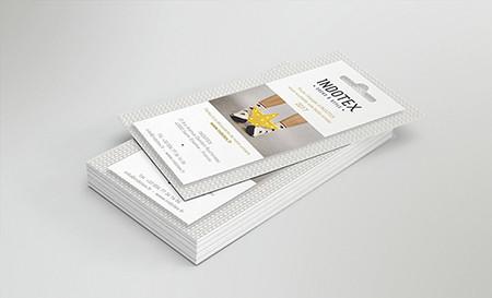 Identité visuelle - INDOTEX - Carte de visite