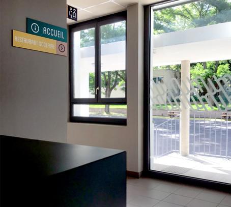 Centre-social St Chamond - Design Maud Moretton - Signalétique