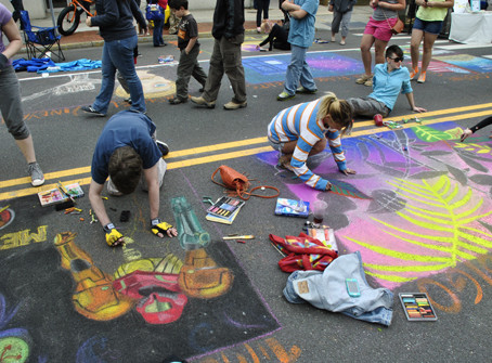 EAA Mosaic Street Painting Festival